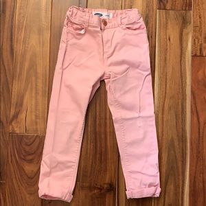 Old Navy Boyfriend Jeans - Distressed Pink - 5T